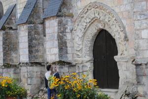 Eglise - porche rubrique Patrimoine